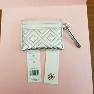Tory Burch Leather Slim Card Case